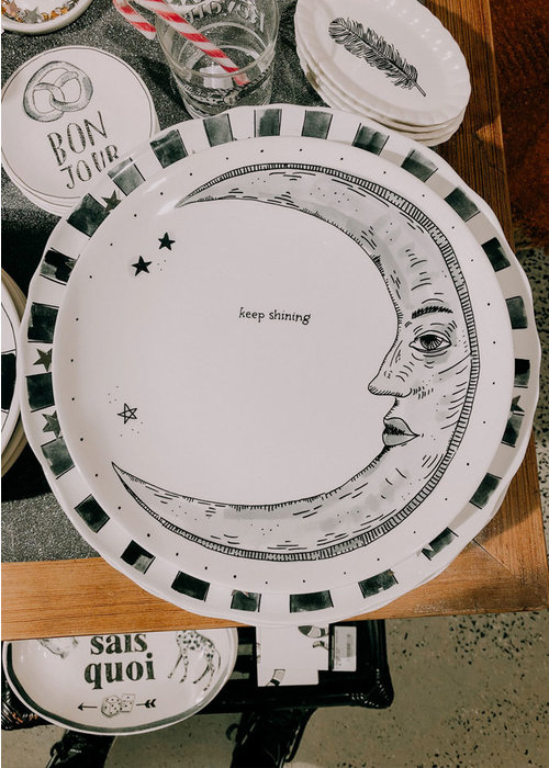 Blond x Noir - Keep Shining Plate