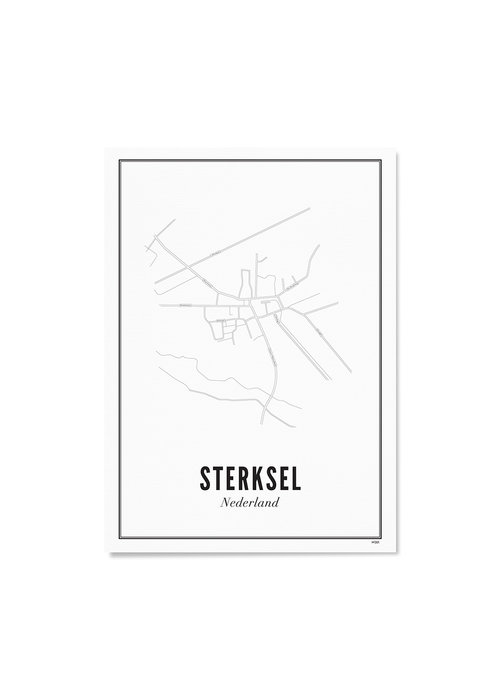 Wijck Poster - Sterksel 50x70
