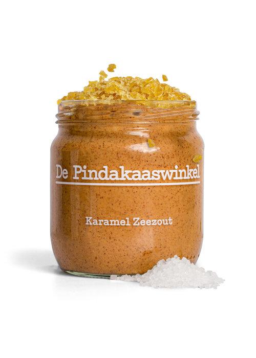 Pindakaas - Karamel Zeezout