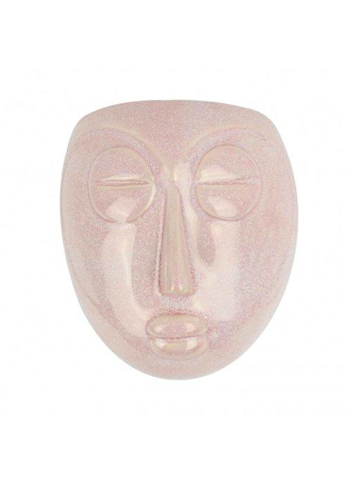Wallplant - Pot Mask Pink