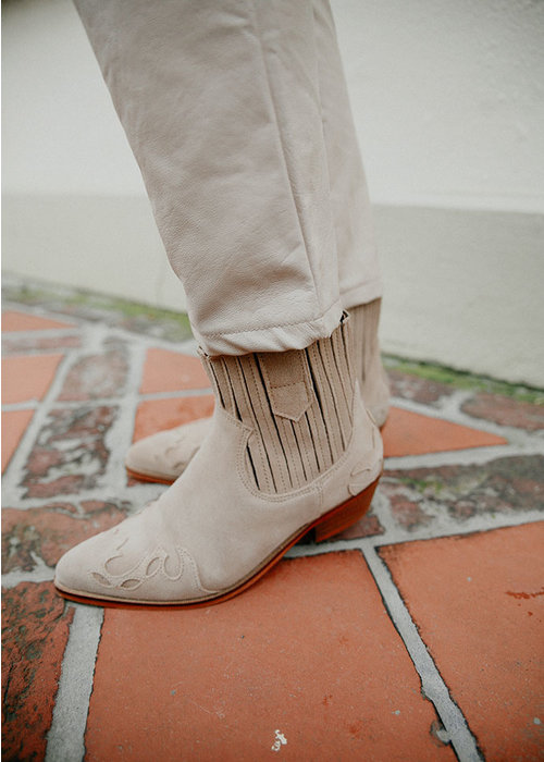 DWRS DWRS - Austin flame suede boot