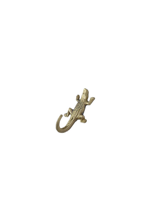Doing Goods - Mickey Crocodile Hook Mini Gold Matt