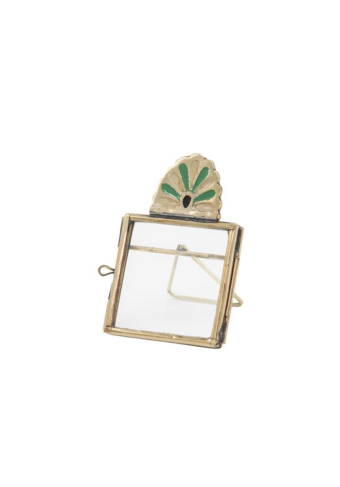 Doing Goods - Rosie Roset Mini Frame Green Gold Matt