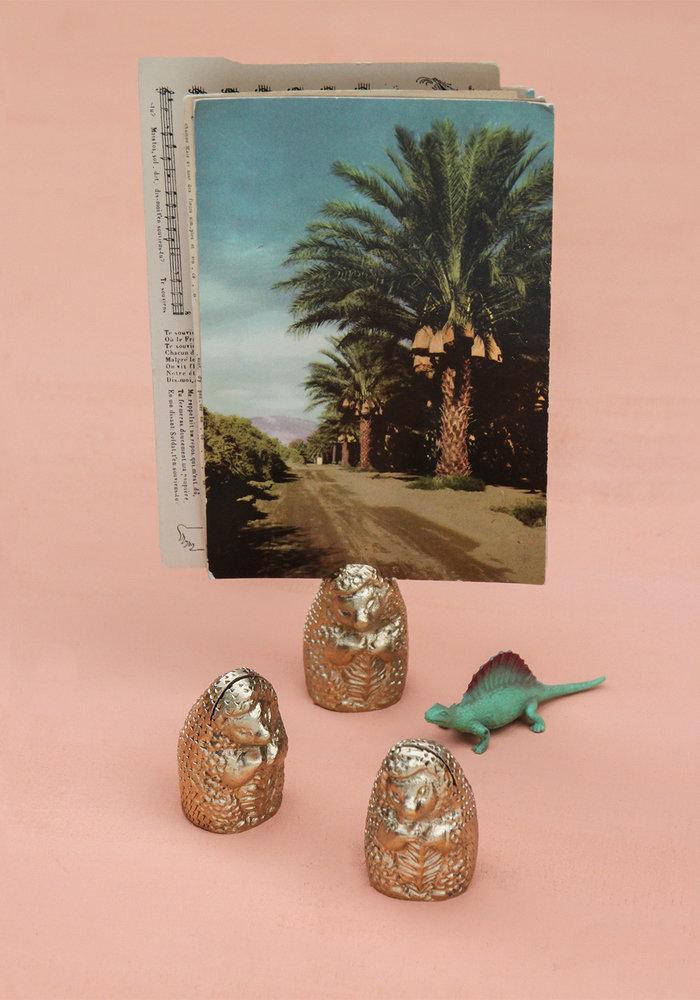 Doing Goods - Herbert Hedgehog Cardholder Gold Matt
