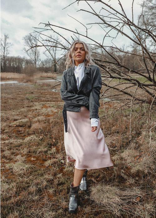 Kiko Soft Pink Silky - Skirt