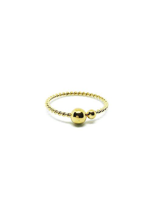 Zag Bijoux ZAG - Ring twisted dots