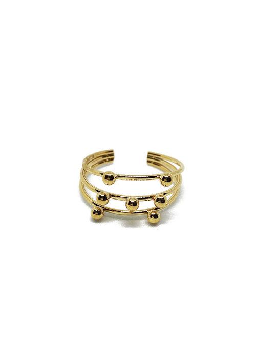 Zag Bijoux Zag Multi Ring - Tiny Dots