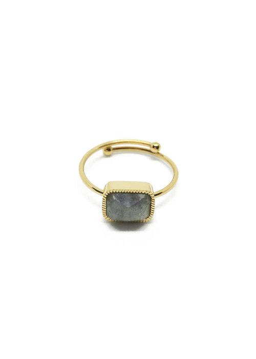 Zag Bijoux ZAG - Ring Labradorite