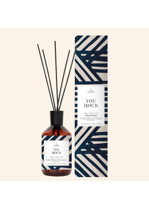 Gift Label Reed diffuser - You Rock