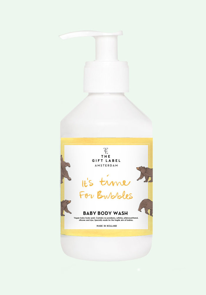 The Gift Label Baby Body Wash - It's time for bubbles