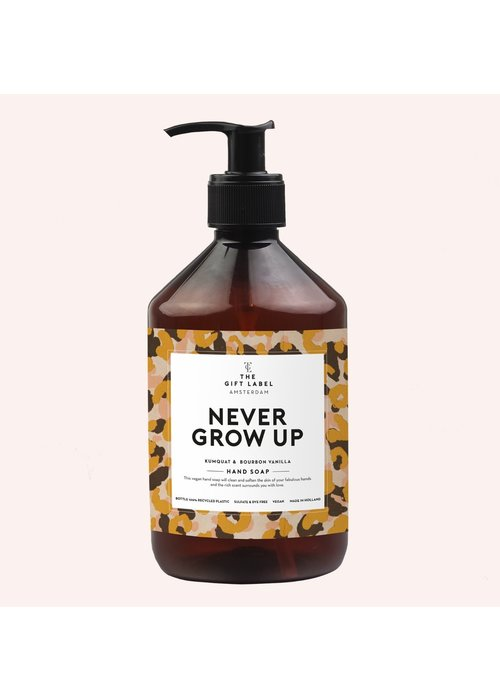 The Gift Label Handsoap - Never Grow up