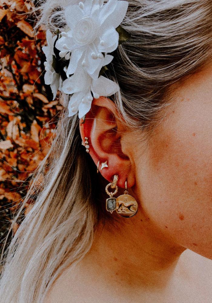 ZAG - Earring star gold