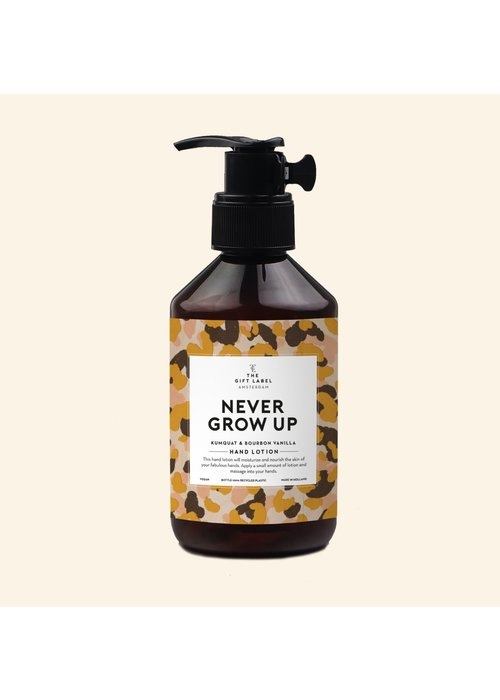 The Gift Label Handlotion - Never Grow Up