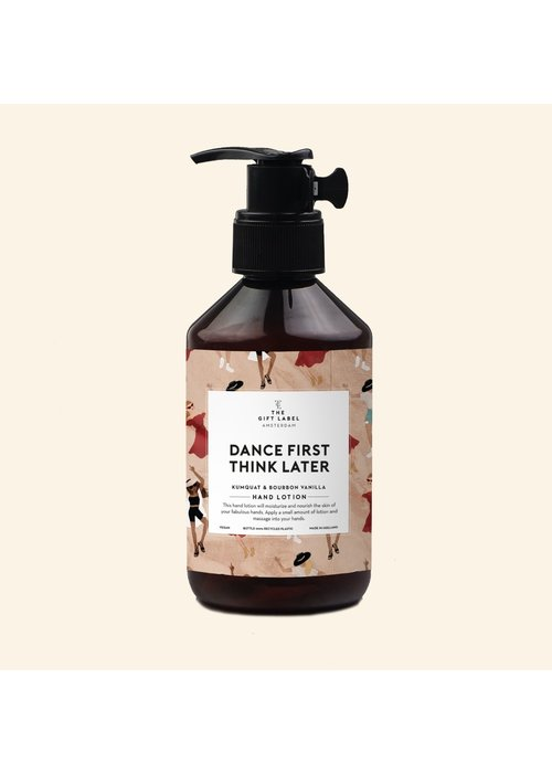 The Gift Label Handlotion - Dance First