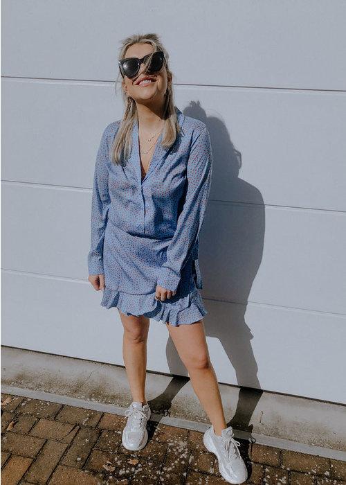 Blake Seven Blake Seven - Milly Dot Skirt Blue