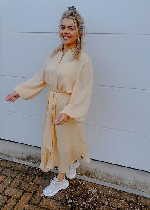 Maxi Dress - Light Yellow