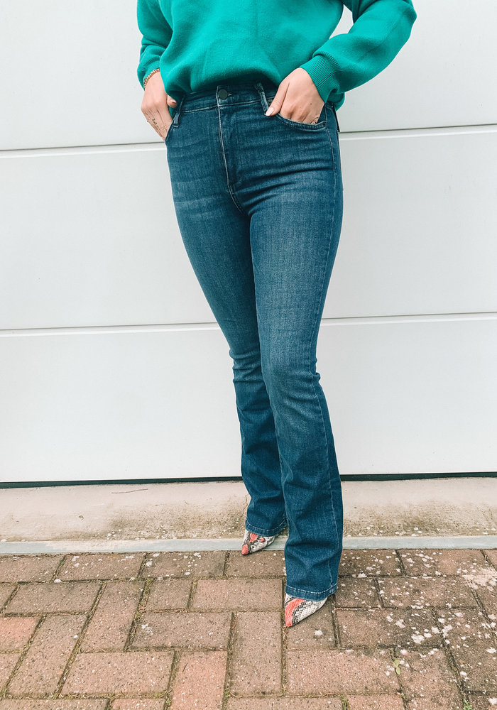 Homage - Flared Jeans Mid Blue