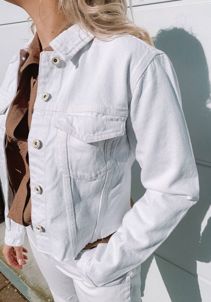 Nill - White Denim Jacket