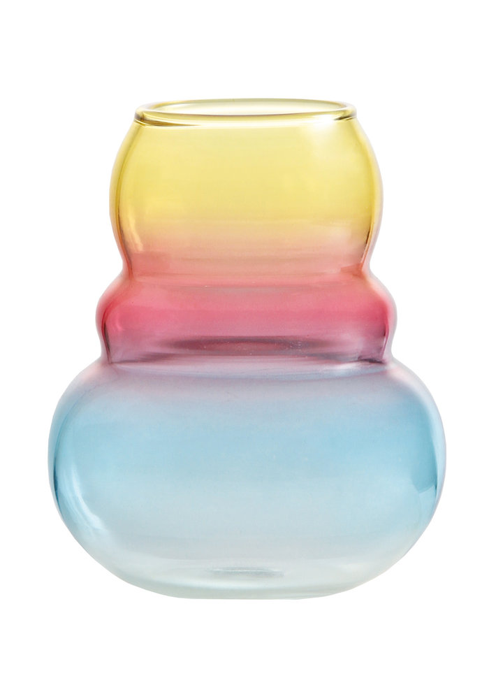 & Klevering - Vase droplet Yellow