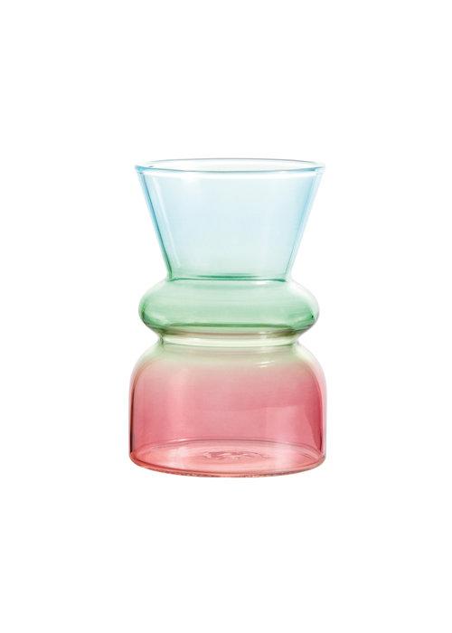 & Klevering - Vase droplet blue