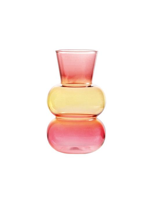 & Klevering - Vase droplet purple