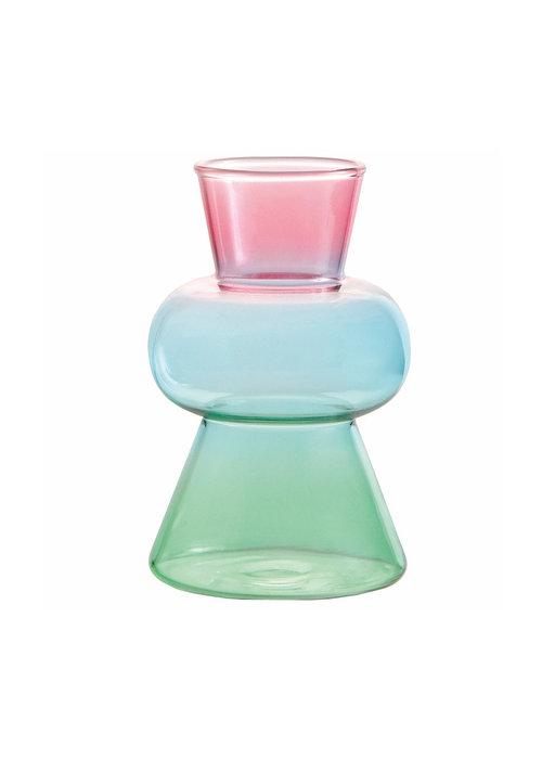 & Klevering - Vase droplet pink
