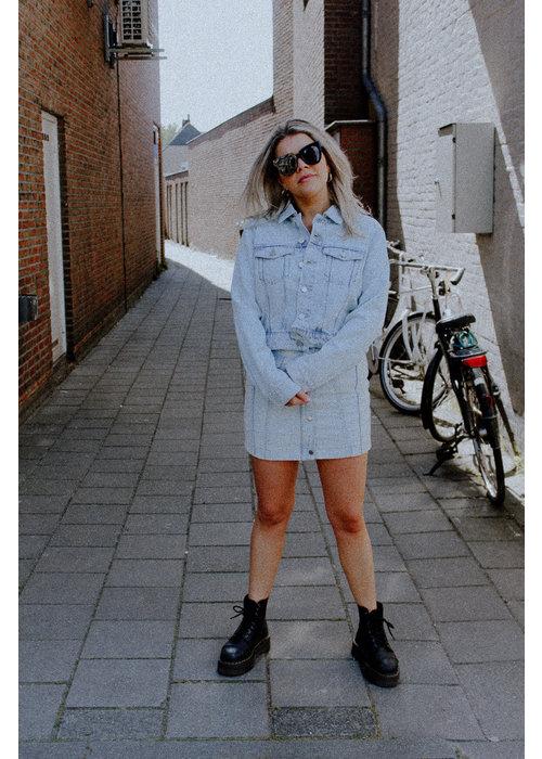 Homage Homage - Denim Jacket Bleached Blue