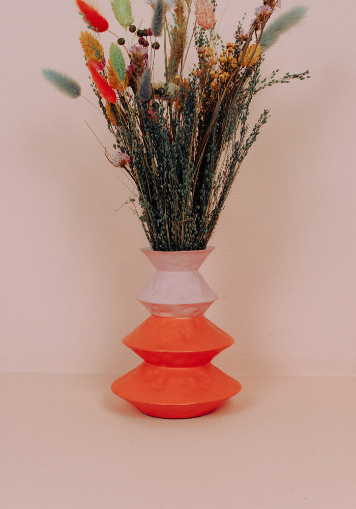& Klevering - Vase Origami Orange