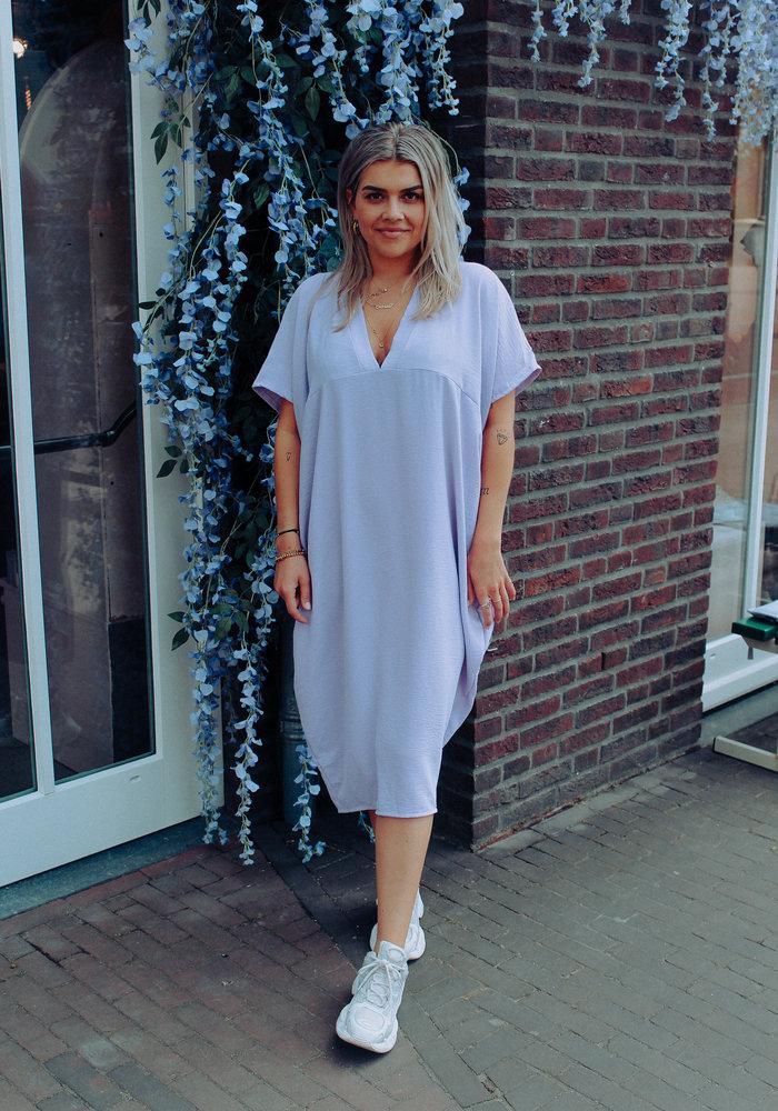 Flouncy Dress - Lila