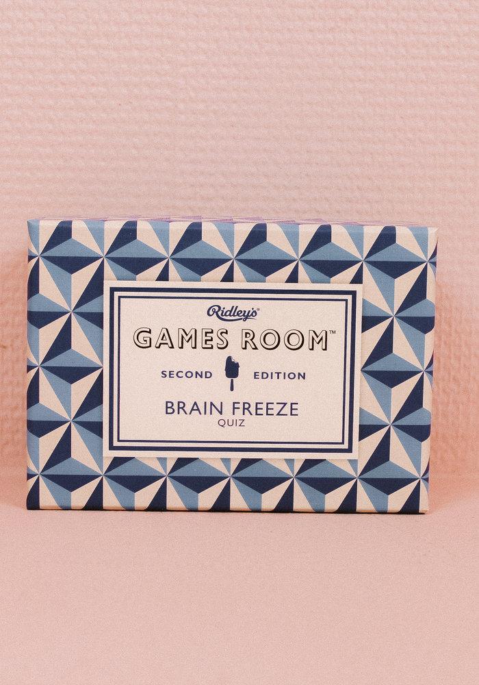 Ridley's - Brain Freeze Quiz