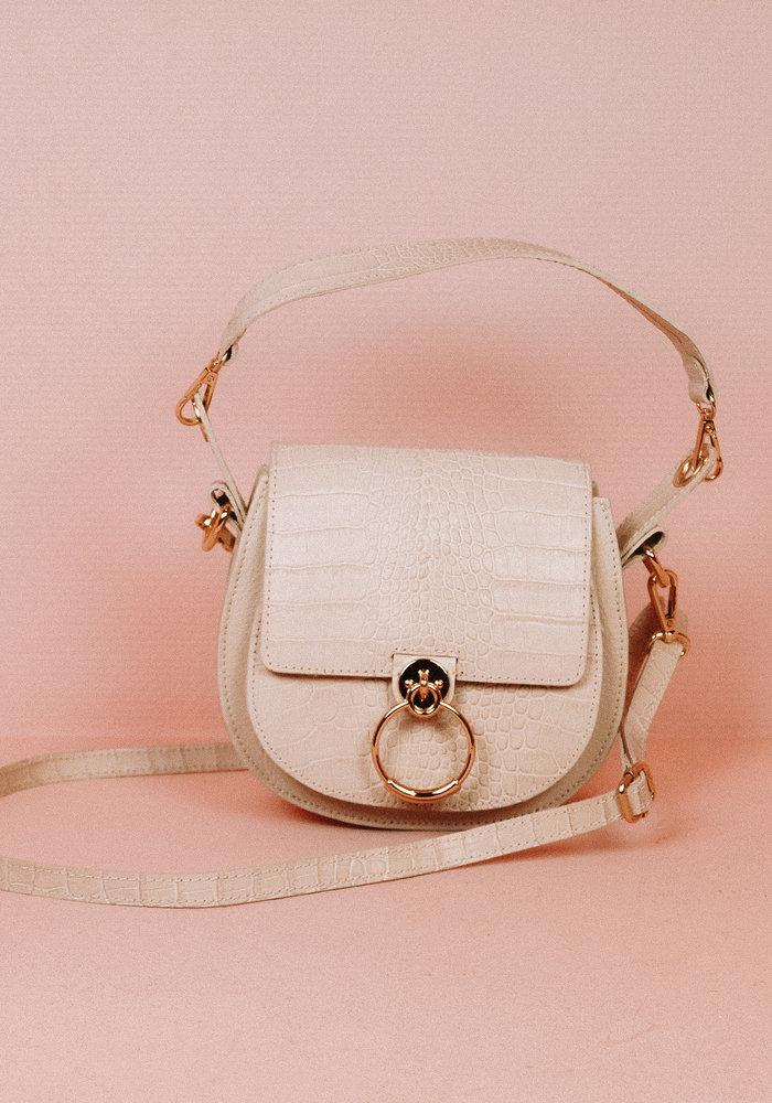 Gianna Croco - Cream Bag
