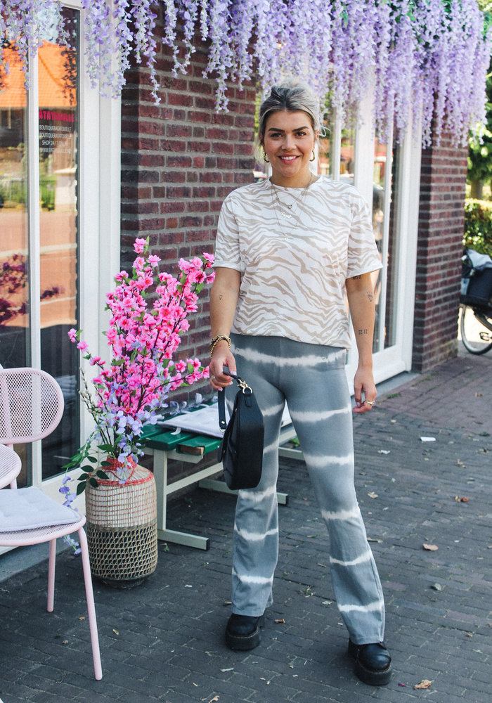 Stripe Flair - Cotton Grey