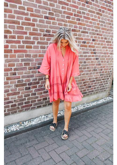 Kiko Ratatouille - Coral Dress