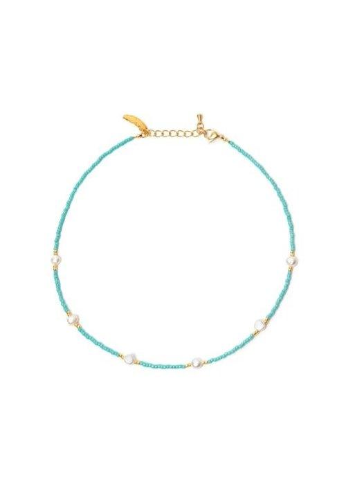 Le veer Le Veer - Ocean Pearl Turquoise