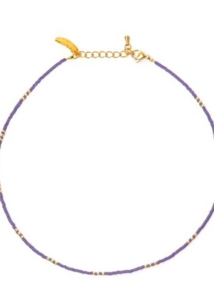 Le Veer - Breeze Necklace Purple