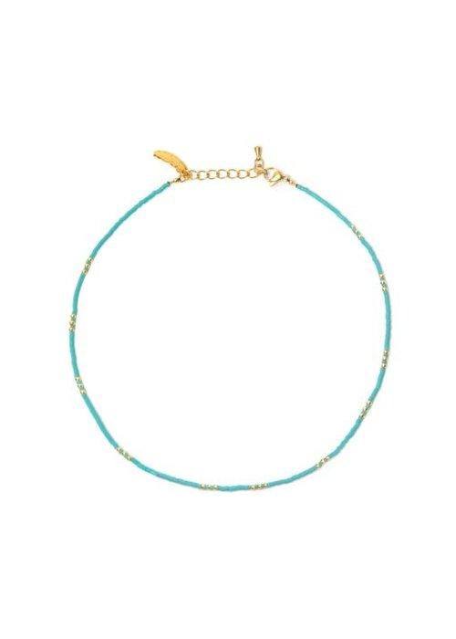 Le veer Le Veer - Breeze Necklace Turquoise