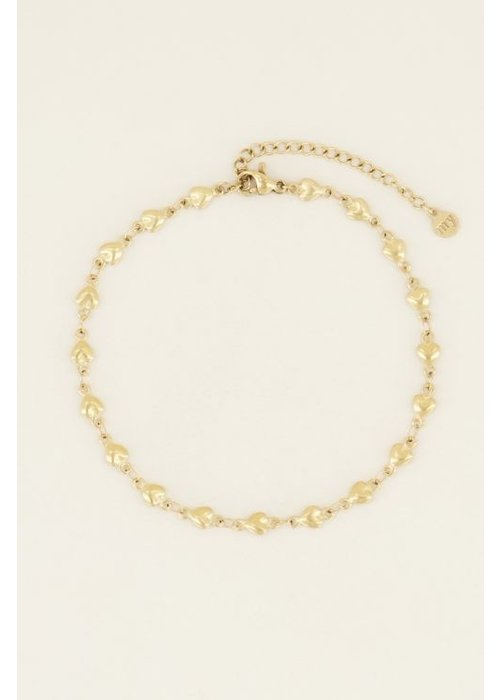 My Jewellery - enkelbandje hartjes