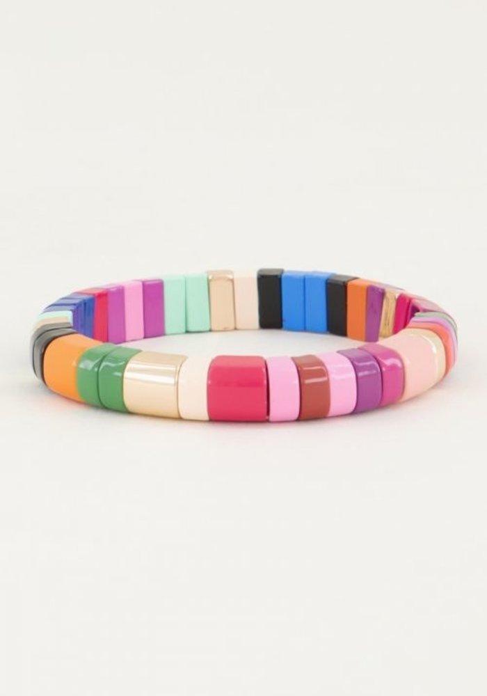My Jewellery - Armband gekleurde kralen