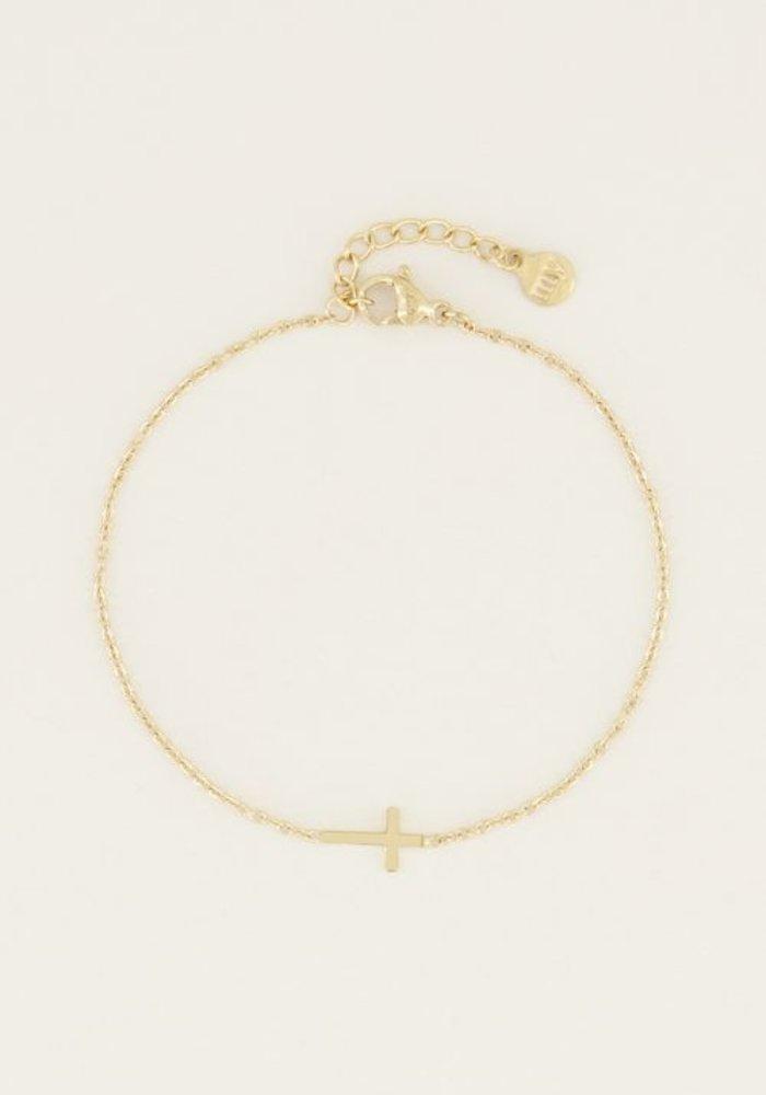 My Jewellery - Armband klein kruisje