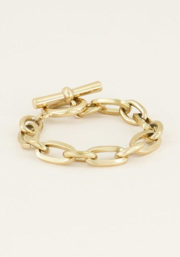 My Jewellery - Schakelarmband kapittelslot