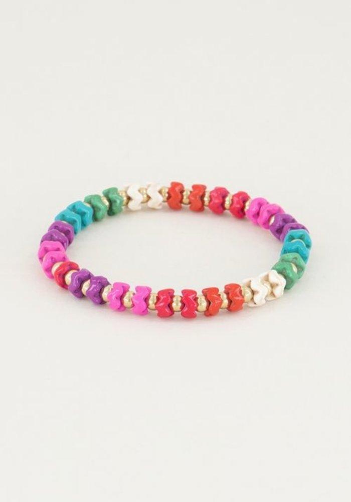 My Jewellery - armband regenboog