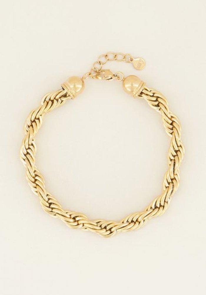 My Jewellery - armband gedraaide schakels