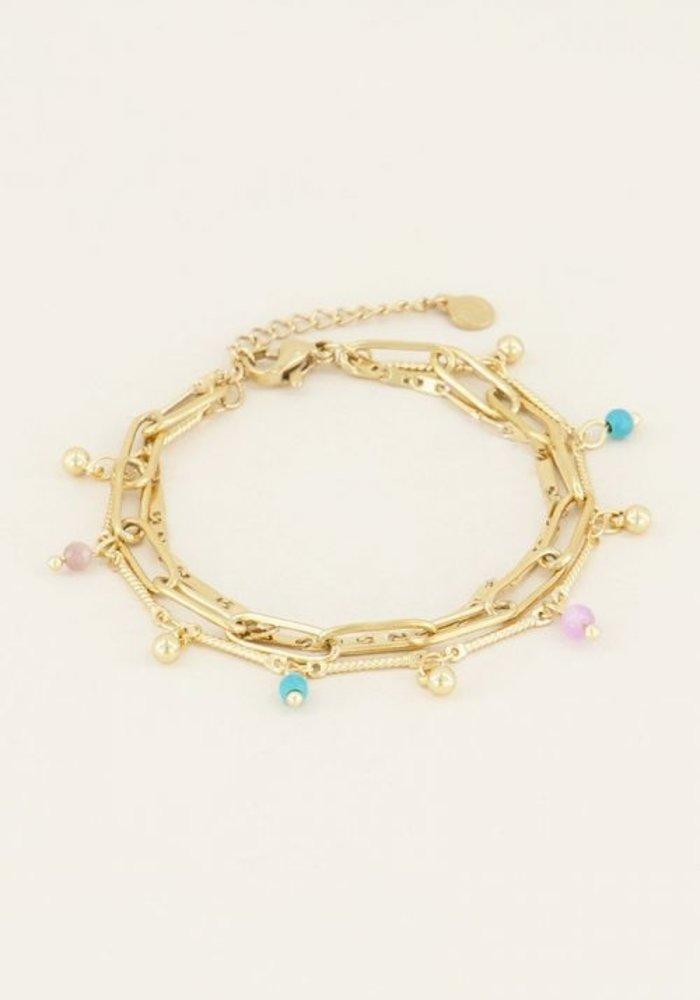 My Jewellery - Drielaags armbandje