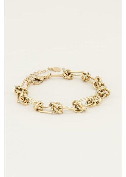 My Jewellery - armband met knoopjes
