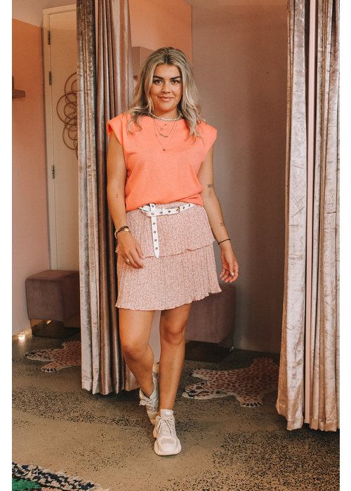 Kiko Ratatouille - Pink Flower Skirt