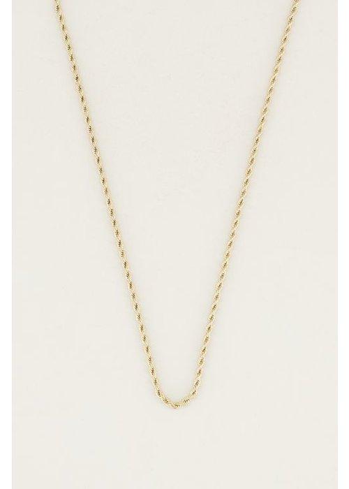 My Jewellery - losse ketting gevlochten