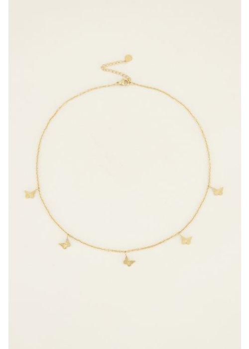 My Jewellery - ketting vlindertjes