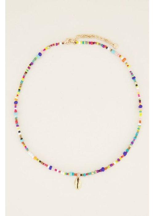 My Jewellery - Ketting kralen en schelp