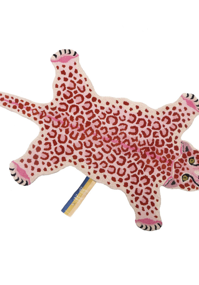 Doing Goods - PINKY LEOPARD RUG LARGE