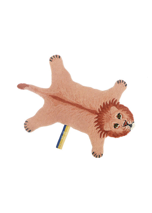 Doing Goods - Pinky Lion Rug Small
